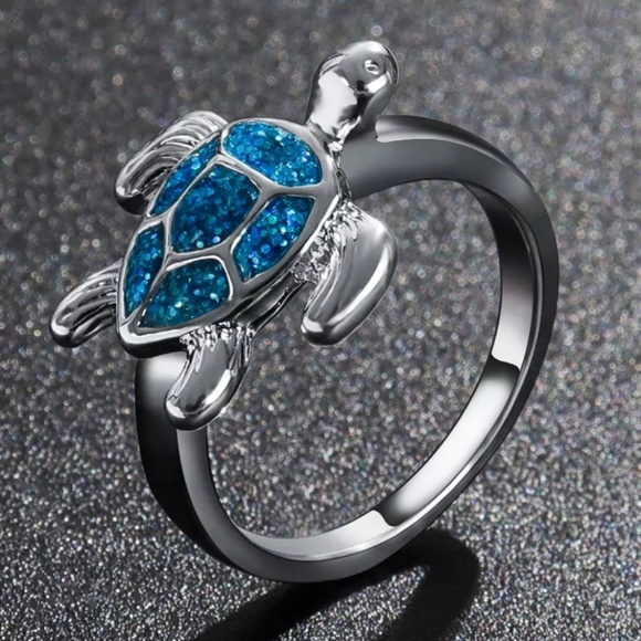 Jewelry - TURTLE RING CZ ring Statement Ring